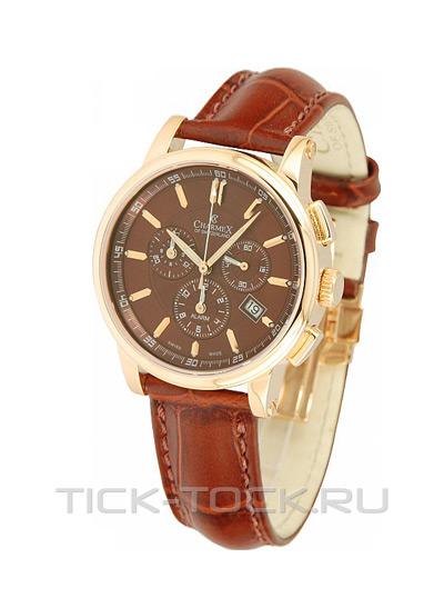 Швейцарские наручные женские часы Charmex 2063. . Коллекция Chrono. Корпус из нержавеющей стали с позолотой