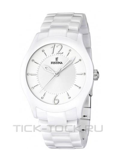 8 (800) 555-72-68; +7... Керамические белые женские наручные часы округлой формы на прочном браслете